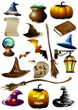 Set for Halloween (Vector) Royalty Free Stock Image