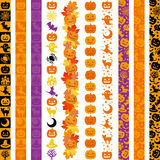 Set of Halloween vertical banners. Royalty Free Stock Photo