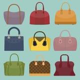 Glamour fashion bags royalty free stock photo