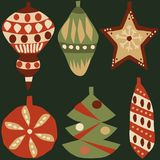 Decoration elements for Christmas 2 royalty free illustration
