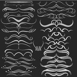 Set of hand drawn doodle design elements on Stock Images