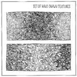 Set of Hand Drawn Textures Royalty Free Stock Photo