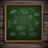 Set of Hand Drawn Various Elements Stock Images