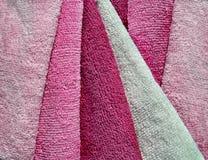 set handdukar för microfiber Fotografering för Bildbyråer