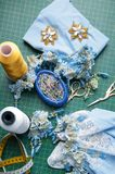 Set for needlework Stock Images