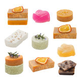Set of handmade soap Stock Photography