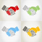 Hand9 Royalty Free Stock Image