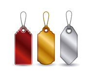 set of hanging tags design Stock Photo