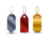 set of hanging tags design Royalty Free Stock Photo