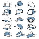 Set of a hat icon  Stock Photography