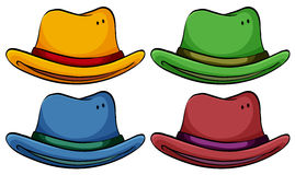 Set of hats Stock Images
