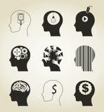 Set a head  Stock Image