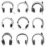 Set Headphones Stock Images