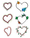 hearts design elements Stock Images