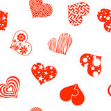 Set of hearts. Stock illustration. Stock Image