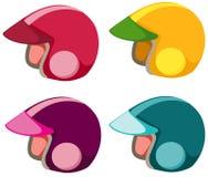 Set of helmet Royalty Free Stock Images