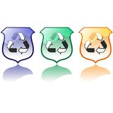 Set of High Quality Recycling Icons Vectors Stock Image