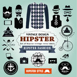 Set  of Hipster style elements. Stock Photography