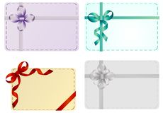Set of holiday cards. Invitation cards Stock Images