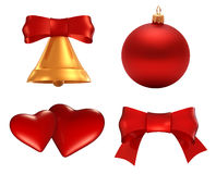 Set of holiday symbol Royalty Free Stock Photography