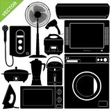 Home Appliances Electronic Vector Royalty Free Stock Photography