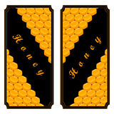 The set honey. The vector shows beehive honey nectar hive swarm winged bee honeycomb wax private apiary beekeeper beeswax.Beehive honey for beeswaxes honeycombs Stock Photo