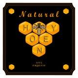 The set honey Stock Image