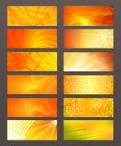 Set Horizontal banner design element background glow abstract. Design elements business presentation template. Vector illustration horizontal web banners vector illustration