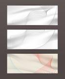 Set of horizontal banner header website39 Royalty Free Stock Photography