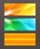 Set of horizontal banner header website14 Royalty Free Stock Images