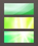 Set Horizontal banner headline abstract glow lines20. Design elements business presentation template. Vector illustration horizontal web banners background vector illustration