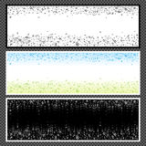 Set of horizontal banners - 09 Royalty Free Stock Image