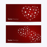 Set of horizontal banners stock illustration