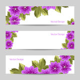 Set of horizontal banners Royalty Free Stock Image