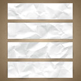 Set of horizontal banners Royalty Free Stock Photo