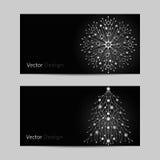 Set of horizontal banners Royalty Free Stock Photos
