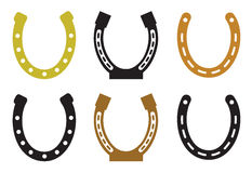 Set of horseshoe Stock Photography