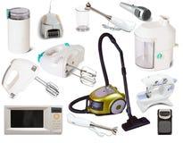 Set of  household appliances Royalty Free Stock Photos