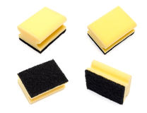 Set of household sponge Royalty Free Stock Photography