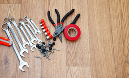 Set of household tools Stock Photography