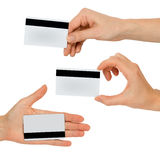 Set of human hands Royalty Free Stock Images