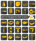 Set of hygiene icons Stock Images