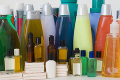 Set of Hygienic Supplies Stock Photo