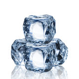 Set of Ice Cubes Stock Images
