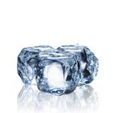 Set of Ice Cubes Stock Image