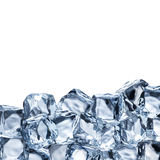 Set of Ice Cubes Royalty Free Stock Photography
