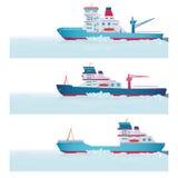 Set. Icebreakers ilustracji