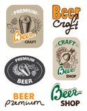 Set icon beer royalty free illustration