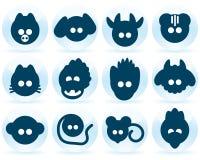 Free Set Icon Chinese Horoscope Stock Images - 8001024