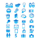 Set for 28 icon design Stock Photo